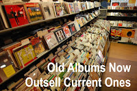 Old albums outsell new