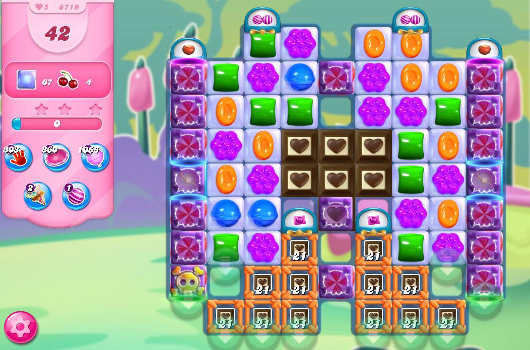 Candy Crush Saga level 8719