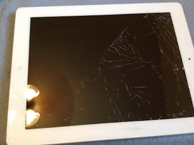 màn hình ipad 2 bị vỡ phải thay mới