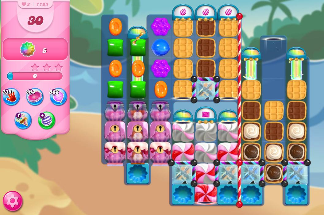 Candy Crush Saga level 7785