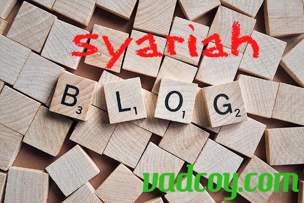 Blogger Syariah Sesuai Islam 1