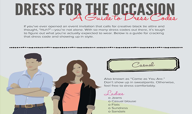A Guide To Dress Codes