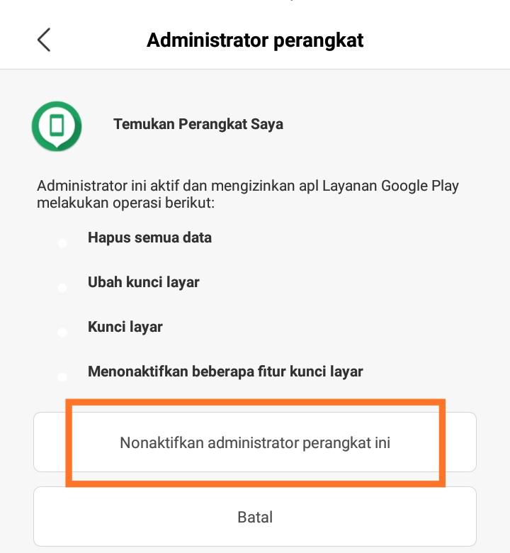 administrator perangkat oppo a3s
