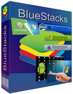 BlueStacks 2.7.307.8213 poster box cover