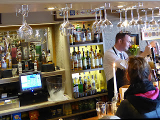 Our Ireland Adventure Day 13 - Lunch at the Causeway Hotel Bar