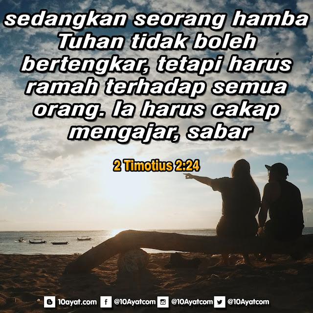 2 Timotius 2:24