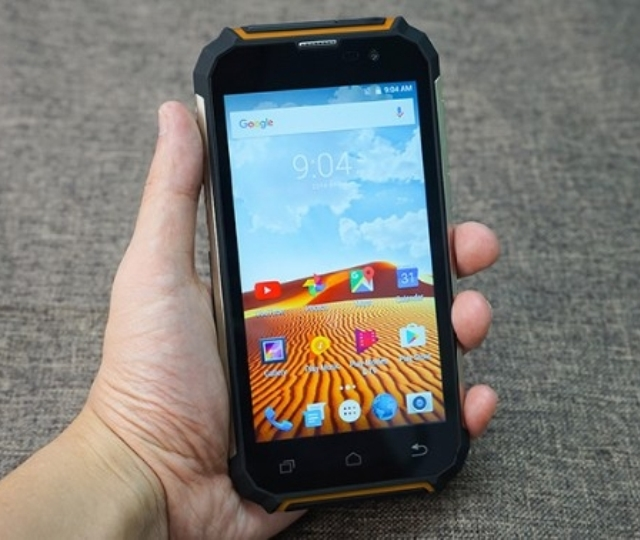 Защищённый смартфон Geotel G1 Terminator с ёмкой батареей