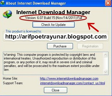 Download Idm Build Full Version Arif Poetra Yunar Blog Download IDM Internet Download Manager 6 07 build 15 Full Patch 390x334