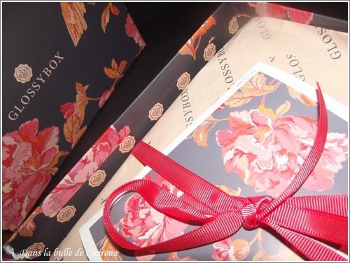 GlossyBox, Bouquet de soins sur-mesure, box octobre 2014