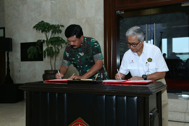 TNI Jalin Kerja Sama Dengan SKK Migas