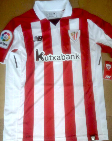 Filtración uniformes de Athletic Bilbao por New Balance local ... 5aa5af21536d7