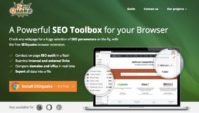 SEOquake 17 Top Best Google Chrome Extensions for SEO