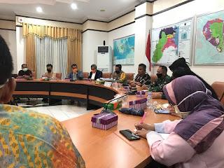 Rapat Persiapan Uji Coba Pembatasan Sosial Berskala Besar (PSBB) Hari Ke-2 - Tarakan Info