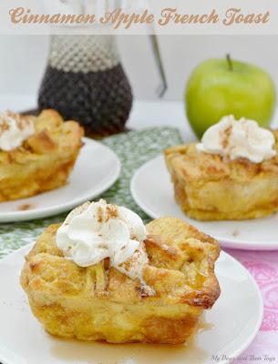 Cinnamon Apple French Toast, Apple Recipes