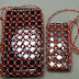 Quick Beaded Purse or Cell Phone Holder Tutorial