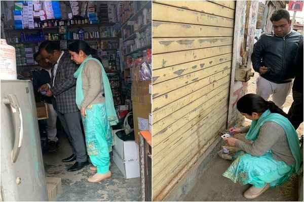 garbhpaat-medicine-medical-store-seal-by-khadya-aushadhi-vibhag-faridabad