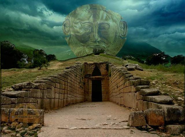 Τι υπήρχε στο εσωτερικό του τάφου του Ατρέα;