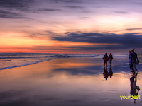 Parangtritis Beach Yogyakarta, The beauty of the beach Wrapped Mystery