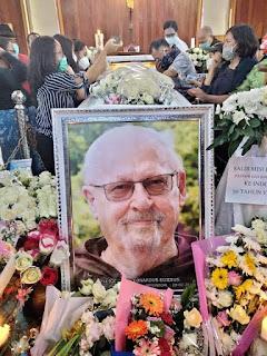 Misionaris Pastor Leo Joosten Asal Belanda Berpulang, Dikebumikan di Sinaksak Siantar