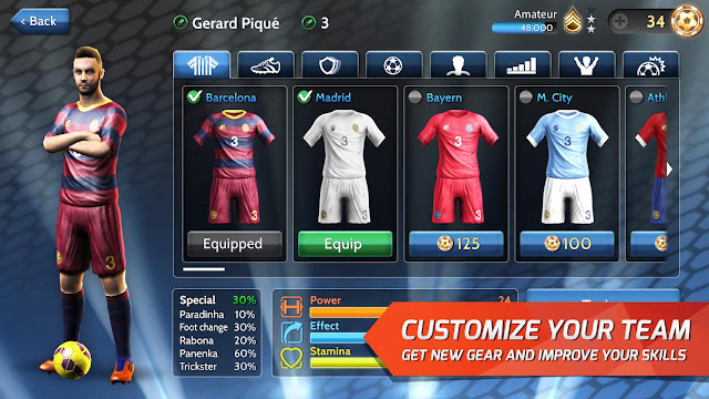 Customize Your Team