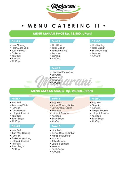 Paket Catering Murah Lembang Bandung