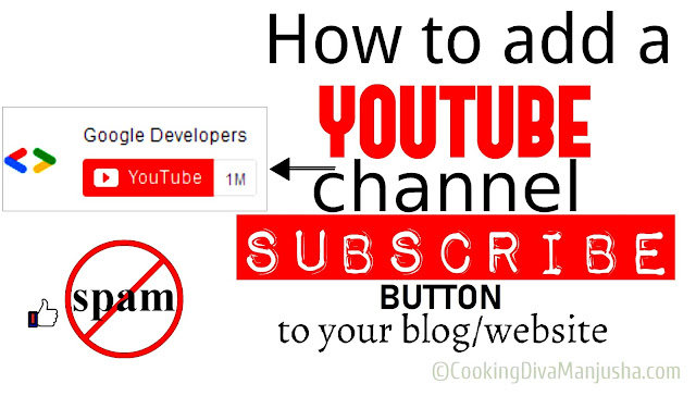 add-youtube-channel-subscriber-button-on-website