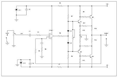 Rangkaian OCL 50 Watt