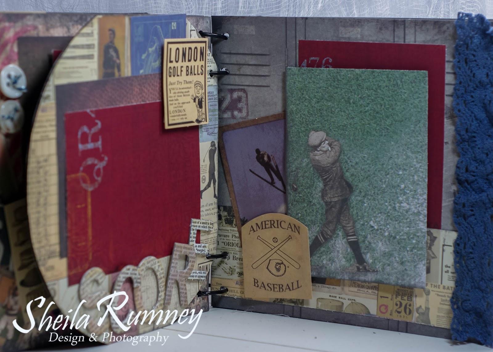 Sheila Rumney Sports Memories Mini Album
