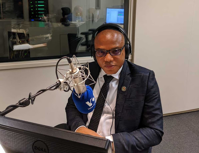 BIAFRA: Nnamdi Kanu dares whoever do not believe in Biafra agitation to challenge him on live broadcast