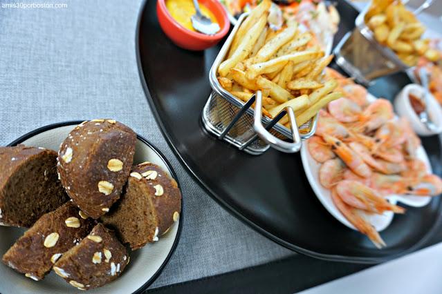 Pan Moreno de The Cheesecake Factory y Patatas Fritas en Freidora de Aire
