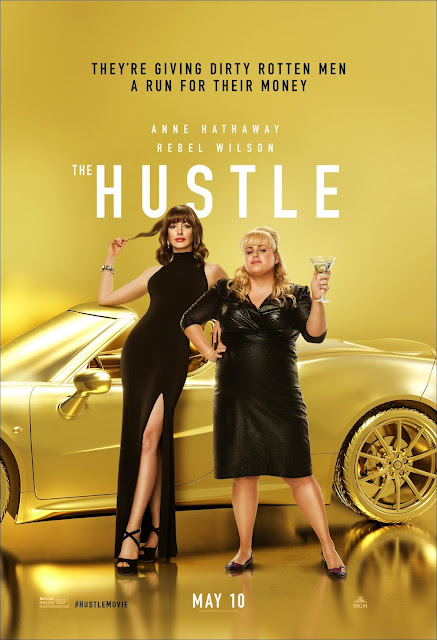 The Hustle, Movie, Filem, English Movie, #HUSTLEMOVIE, The Hustle Movie, Filem Inggeris, Filem The Hustle, Movie Review, English Movie Review, Movie Review - The Hustle, Review Filem The Hustle (2019), Ulasan Filem The Hustle (2019), The Hustle Synopsis, Sinopsis Filem The Hustle (2019), English Movie 2019, Comedy Movie, Con Artist, Lawak, My Opinion, Poster Filem The Hustle (2019), Anne Hathaway New Movie, Rebel Wilson New Movie, Senarai Pelakon Filem The Hustle (2019), Anne Hathaway, Rebel Wilson, Alex Sharp, Ingrid Oliver, Emma Davies, Dean Norris, Timothy Simons, Rob Delaney, Tin Blake Nelson,