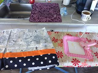 DIY Crib Bed Skirt Modification