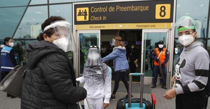CORONAVIRUS EN PERÚ: Gobierno evaluará este lunes posible cierre de vuelos ante la nueva cepa del COVID-19 aparecida en el Reino Unido