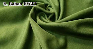 Bahan HYGET adalah salah satu jenis bahan yang sering digunakan untuk membuat kaos