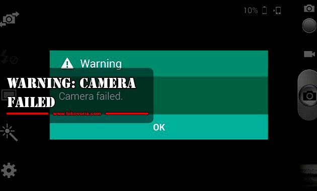 Warning: Camera Failed