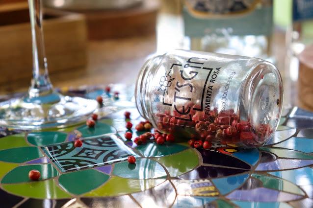 Pimenta Rosa em Grãos - Let´s Gin