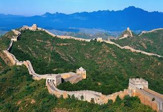 Gambar Tembok Raksasa (great Wall) RRC