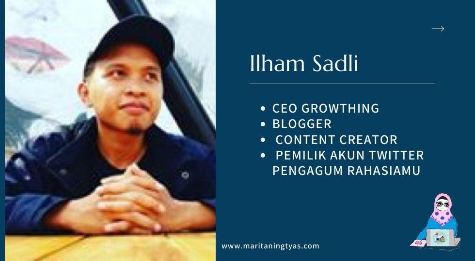 profil ilham sadli blogger jember