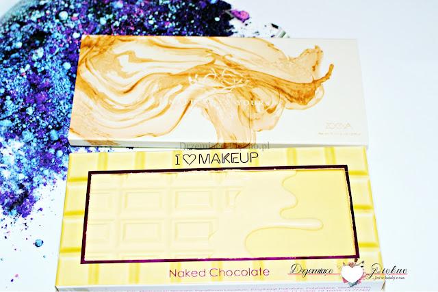 Kosmetyczna bitwa odc. 1 - PALETKI CIENI - ZOEVA Naturally Yours vs. Makeup Revolution Naked Chocolate