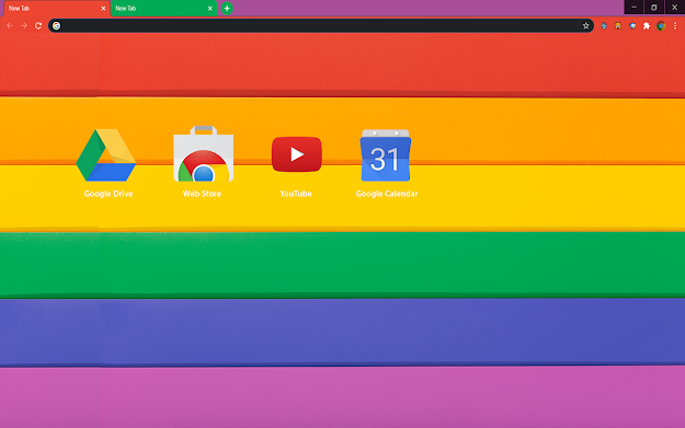 Proud Chrome Theme