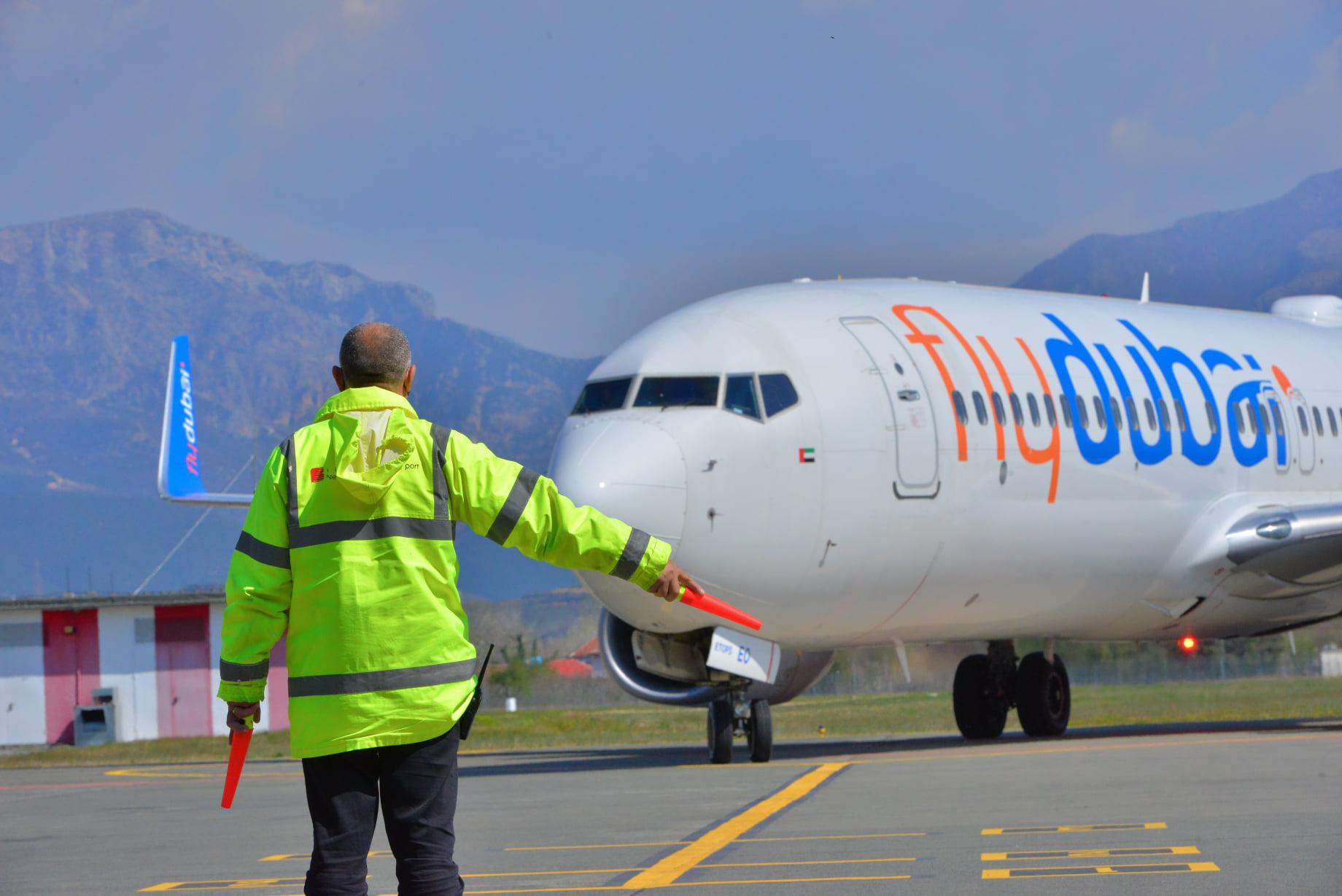 Flydubai touches down in Tirana in the Albanian capital