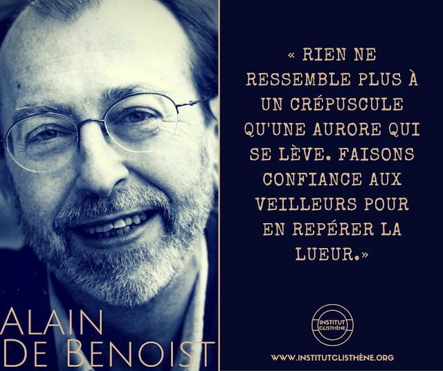 Alain de Benoist parcours