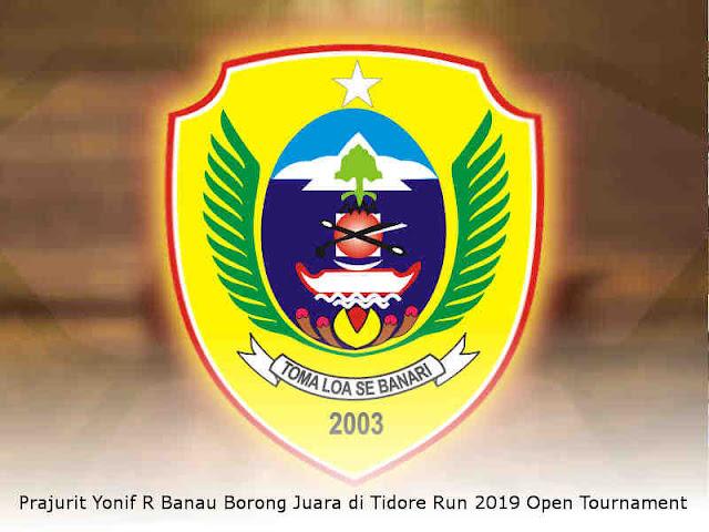 Prajurit Yonif R Banau Borong Juara di Tidore Run 2019 Open Tournament