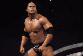 Former wrestler the Rock Dwayne Johnson