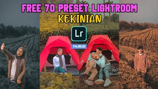 70+ Preset Lightroom Selebgram Kekinian Terbaru XMP