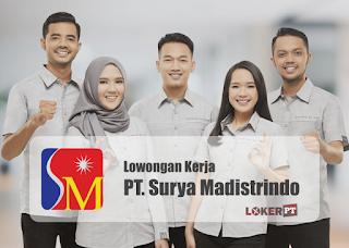 Lowongan Kerja PT Surya Madistrindo (Gudang Garam)
