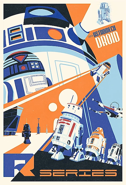 Star Wars Holiday Posters R2-D2