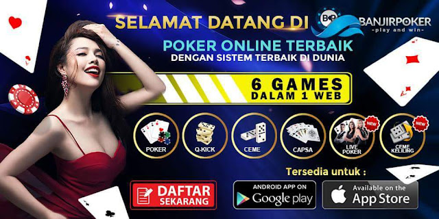 Image result for banjirpoker