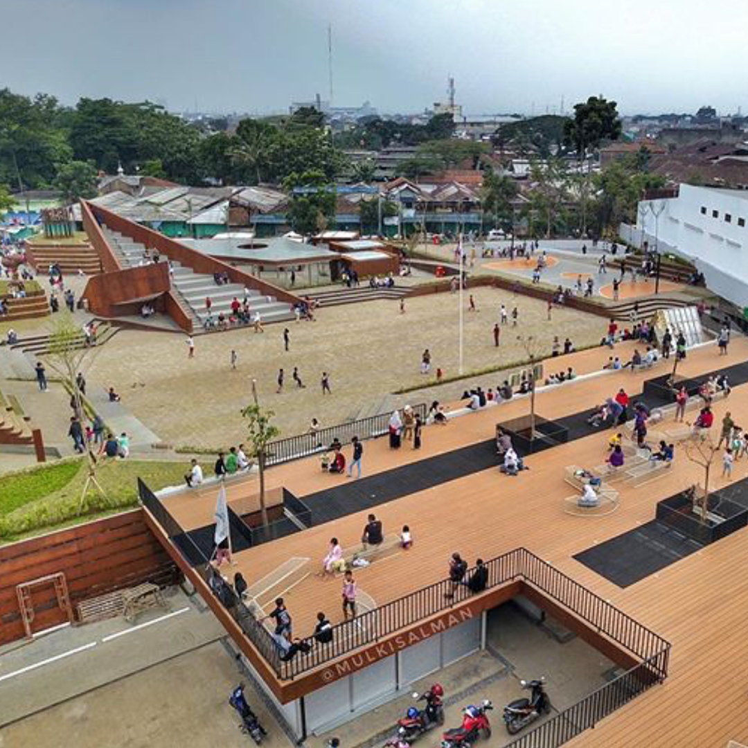 Destinasi Unik Taman Alun-Alun Cicendo Bandung