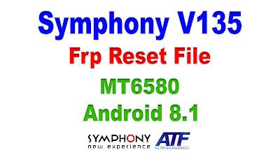 Symphony V135 Frp Reset File